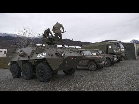 Unterwegs mit Soldaten der AUTCON KFOR im Kosovo