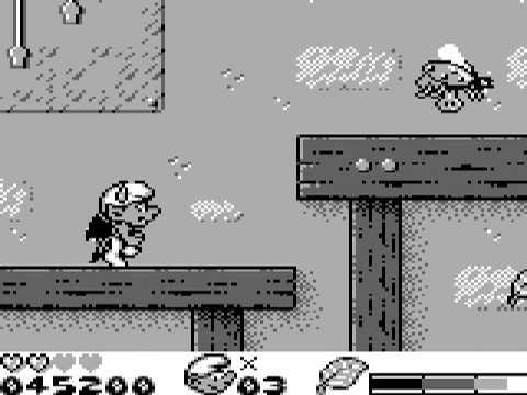 Le Cauchemar des Schtroumpfs Game Boy