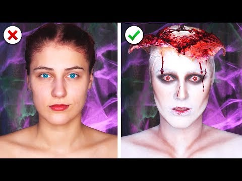 6 Scary Last Minute Halloween Makeup and Costume Ideas