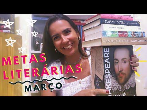 METAS LITERÁRIAS - MARÇO 2020 | Ana Carolina Wagner