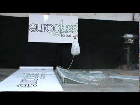 SWING BALL TEST: 12mm Toughened Glass