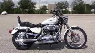 10. Used 2005 Harley Davidson Sportster 1200 Custom for sale