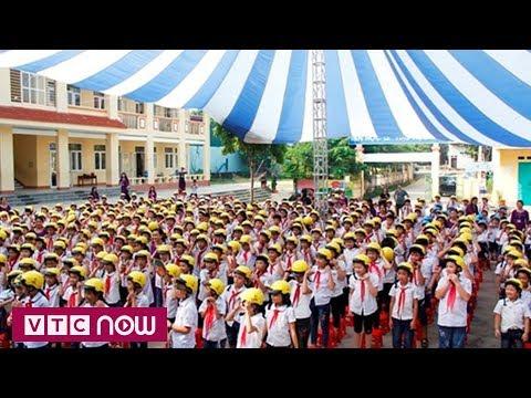 1.600 mũ bảo hiểm chuẩn cho học sinh Thái Nguyên | VTC1 - Thời lượng: 45 giây.