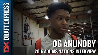 O.G. Anunoby Interview from 2016 Adidas Nations