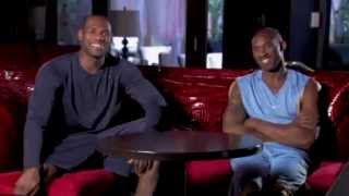 Kobe Bryant and LeBron James - Mutual Respect