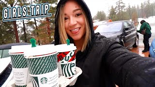 girls trip to big bear: tik toks, starbucks, and gingerbread houses! vlogmas day 4 by Alisha Marie Vlogs