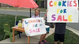 Great Way for Kids to Learn and Make Money in the Summer!
