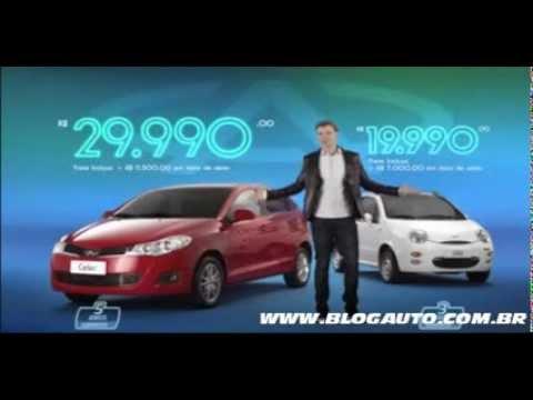 Chery Celler e QQ 2014 - Comercial com o Xuxa- BlogAuto (видео)
