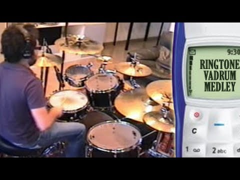 ringtone - This is my funny drum medley of classic Nokia monophonic ringtones!!! Thanks everyone for the awesome support! ^_^ More Vadrum Videos? SUBSCRIBE NOW! :-D Che...