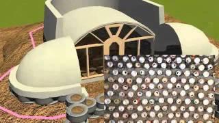 Строительство дома из покрышек - 2