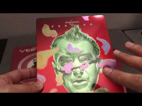 VERTIGO [FILMARENA BLACK BARONS #12] STEELBOOK BLU RAY REVIEW + UNBOXING +
