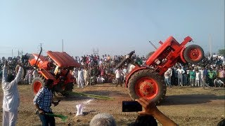 Tractor tochan accident in karsindhu kubota vs belarus ट्रेक्टर एक्सीडेंट पूरा वीडियो देखें