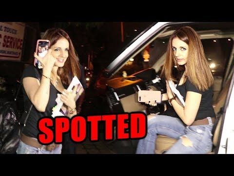 Hrithik Roshan's Ex Wife Sussanne Khan Steps Out O