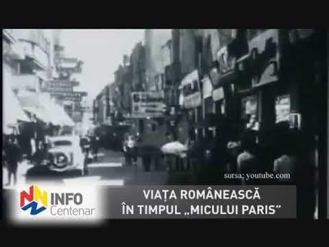 """Viaţa românească în timpul """"Micului Paris"""""""