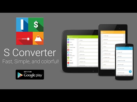 Video of S Converter - Unit Converter