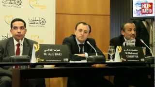 Conférence de presse du Festival Mawazine 2012 à Rabat, le 20/03/2012 avec HIT RADIO