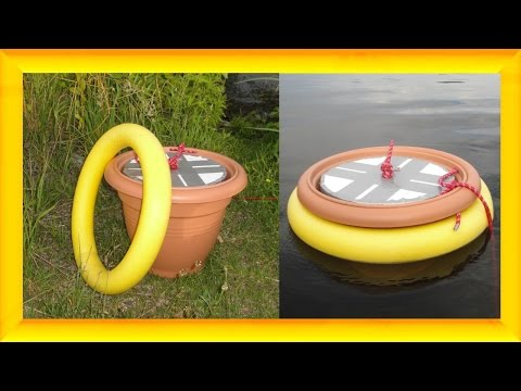 Schwimm - Kühlschrank selbst bauen aus Poolnudel  - DIY Gadget - Lifehack - Flower pot Fridge
