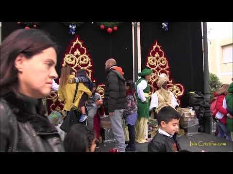 Entrega de Cartas a los Reyes Magos en Isla Cristina