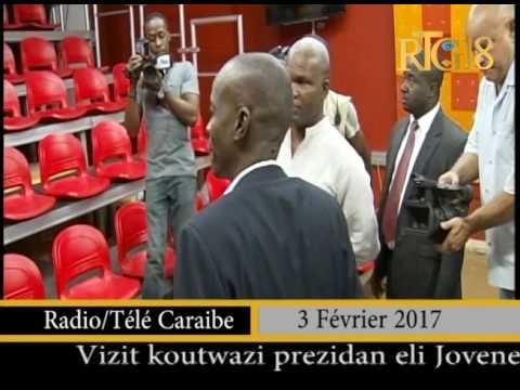 Le Président élu de la République, Jovenel MOISE a visité plusieurs médias de la capitale