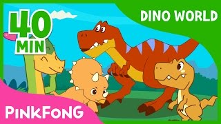 Video Dino World | T-Rex and more  | +Compilation | Dinosaur Musical | Pinkfong Stories for Children MP3, 3GP, MP4, WEBM, AVI, FLV September 2018