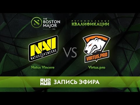 Natus Vincere vs Virtus.pro, Boston Major Qualifiers - Europe [Maelstorm, Nexus]