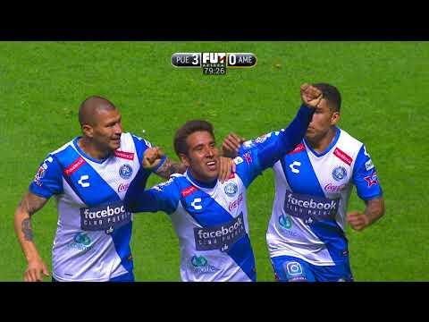 Puebla 3-1 América  J16 - Clausura 2018