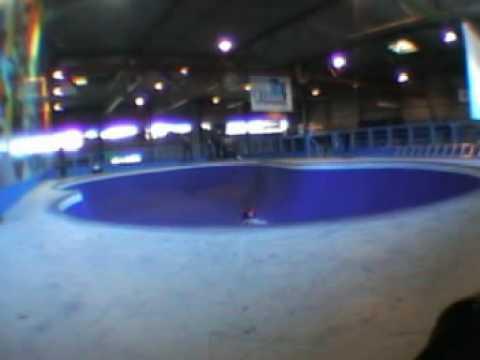 bowling in Kristiansand skatepark