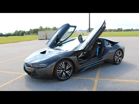 2014 – 2015 BMW i8 – Review in Detail, Start up, Exhaust Sound, and Test Drive