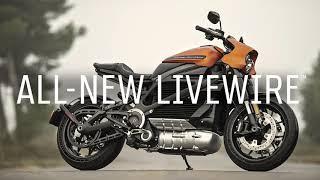 Harley-Davidson LiveWire in azione
