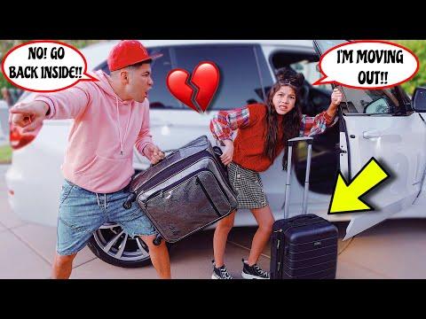 Saying GOODBYE To My PARENTS!! | Familia Diamond