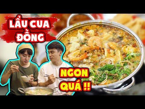 """Phản ứng người Hàn lần đầu ăn """"Lẩu cua đồng"""" ngon bá cháy !!! - Thời lượng: 10:53."""