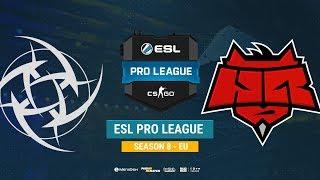 NiP vs HellRaisers - ESL Pro League S8 EU - bo1 - de_mirage [Anishared]