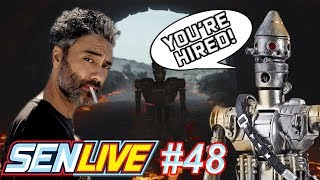 Here Are The Reasons Why Taika Waititi Doing a Star Wars Film Can Save The Franchise! - SEN LIVE #48 by Schmoes Know
