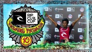 Rahtu and Alik Progress to the 2013 Rip Curl Cup Padang Padang Invitational