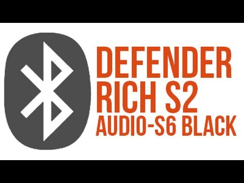 Recenze Bluetooth Reproduktorů Defender Rich S2 a Audio-S6 Black!