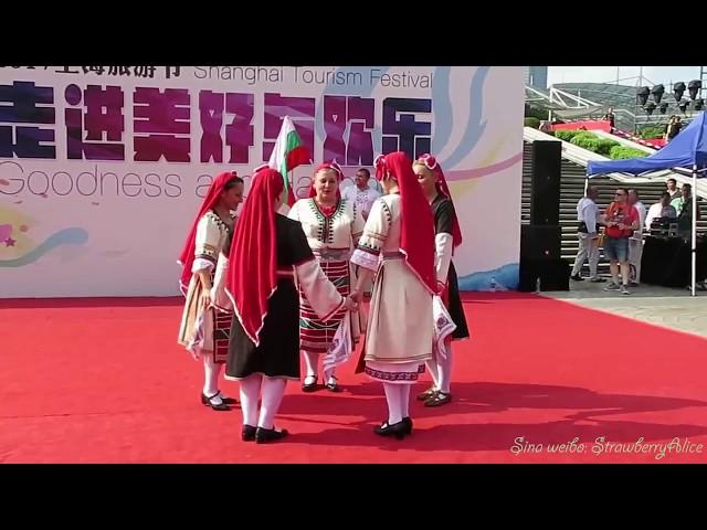 """Ансамбъл """"ОТ ИЗВОРА"""" на фестивал в гр.Шанхай (Китай) 2017г."""
