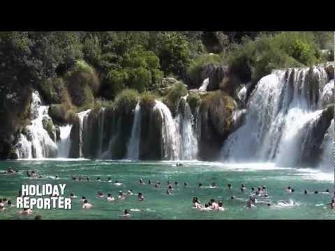 Krk Wasserfälle
