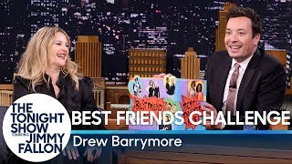 Video Best Friends Challenge with Drew Barrymore MP3, 3GP, MP4, WEBM, AVI, FLV Januari 2019