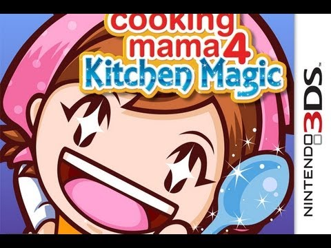 CGRundertow COOKING MAMA 4: KITCHEN MAGIC For Nintendo 3DS Video Game Review