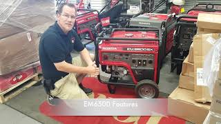 5. The Honda EM6500 Generator Features
