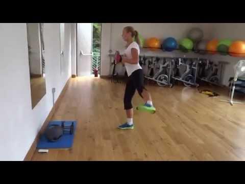 Efektyvi užpakaliuko ir kojų treniruotė