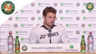 Tennis Highlights, Video - [HD]Press conference Stanislas Wawrinka 2015 French Open / 4th Round