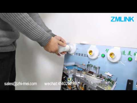 Philips Hue —wireless zigbee compatible bulb test    (can control by 1.0 and 2.0 bridge)