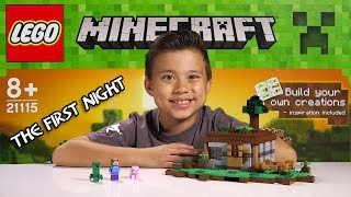 Video LEGO MINECRAFT - Set 21115 THE FIRST NIGHT - Unboxing, Review, Time-Lapse Build MP3, 3GP, MP4, WEBM, AVI, FLV Mei 2019