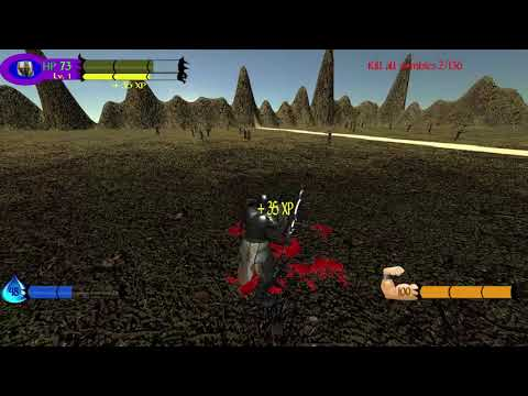 The Knight of the Living Dead (First demo, Action/RPG).