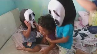 Video Zefa selamatkan Militia dari Raja Monyet Kembar (Video lucu anak bermain) ~ funny Video for kids MP3, 3GP, MP4, WEBM, AVI, FLV Januari 2019