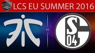 Fnatic vs Shalke 04, game 2