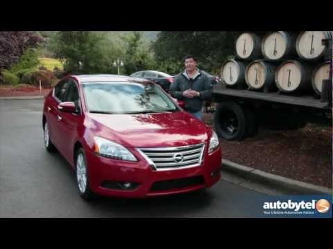 2013 Nissan Sentra Compact Sedan Car Video Review