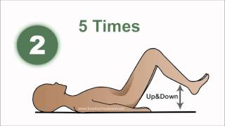 1 min - sciatic pain relief exercise