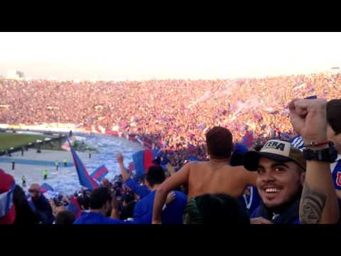 Minutos fianles u de chile vs san luis final 2017 - Los de Abajo - Universidad de Chile - La U